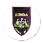 Lebowa Reaction Unit Round Car Magnet