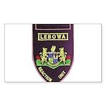 Lebowa Reaction Unit Sticker (Rectangle 50 pk)