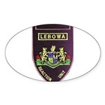 Lebowa Reaction Unit Sticker (Oval)