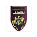 Lebowa Reaction Unit Square Sticker 3