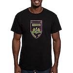 Lebowa Reaction Unit Men's Fitted T-Shirt (dark)
