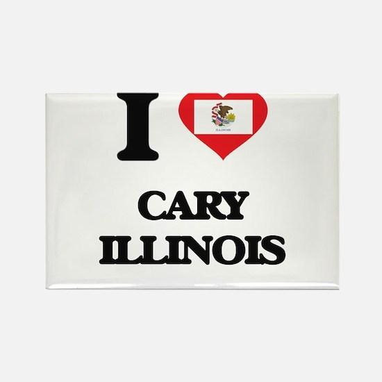I love Cary Illinois Magnets