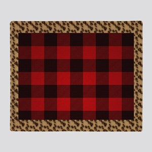 Wild Rob Roy Tartan Throw Blanket