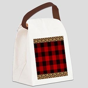 Wild Rob Roy Tartan Canvas Lunch Bag