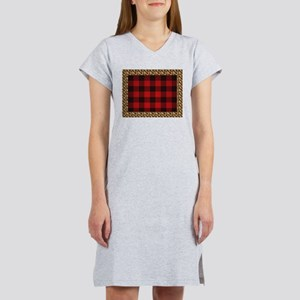 Wild Rob Roy Tartan Women's Nightshirt
