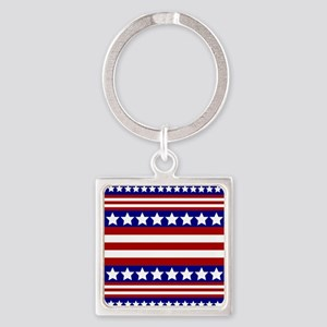 Stars and Stripes Keychains