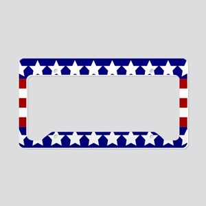Stars and Stripes License Plate Holder