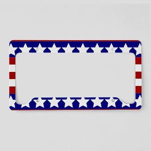 Stars and Stripes License Plate Holder