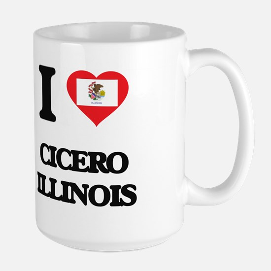 I love Cicero Illinois Mugs