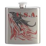 USA Flag Old Glory Flask