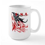 USA Flag Old Glory Large Mug