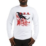 USA Flag Old Glory Long Sleeve T-Shirt