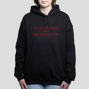 Bad Chupacabra! Women's Hooded Sweatshirt