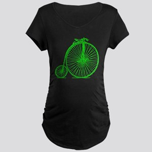 Penny Farthing Maternity T-Shirt