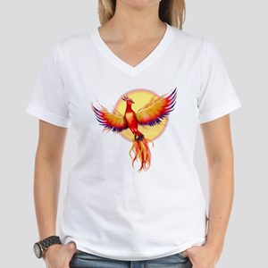 Phoenix Firebird Women's V-Neck T-Shirt