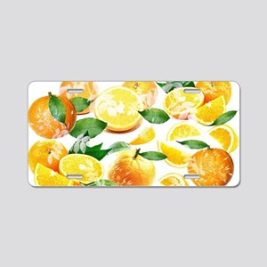 Bitter Oranges from Amalfi Aluminum License Plate