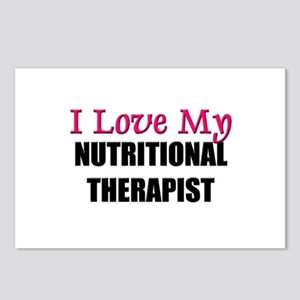 I Love My NUTRITIONAL THERAPIST Postcards (Package