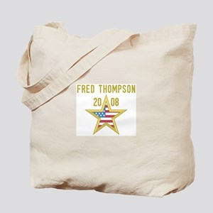 FRED THOMPSON 08 (gold star) Tote Bag