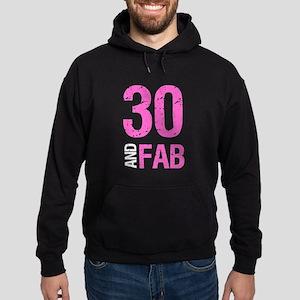 Fabulous 30th Birthday Hoodie (dark)