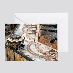 Cannon Tracks Greeting Cards