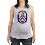 USS JOHN L. HALL Maternity Tank Top