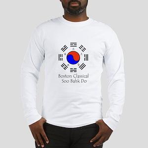 White Logo w/ Title Long Sleeve T-Shirt