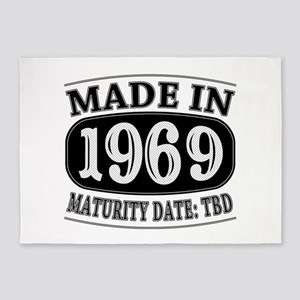 Made in 1969 - Maturity Date TDB 5'x7'Area Rug
