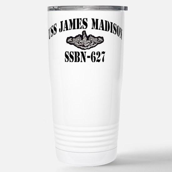 USS JAMES MADISON Stainless Steel Travel Mug