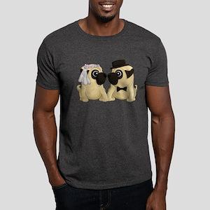 Wedding Pugs Dark T-Shirt