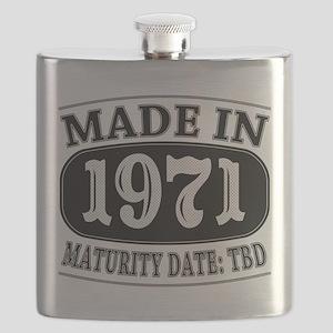 Made in 1971 - Maturity Date TDB Flask