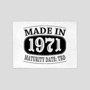 Made in 1971 - Maturity Date TDB 5'x7'Area Rug