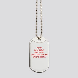 fifty Dog Tags