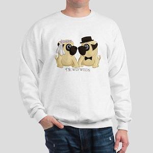 Newlywed Pugs Sweatshirt