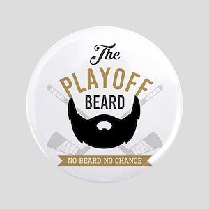 Gold Playoff Beard Button