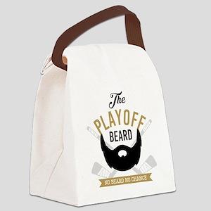 Gold Playoff Beard Canvas Lunch Bag