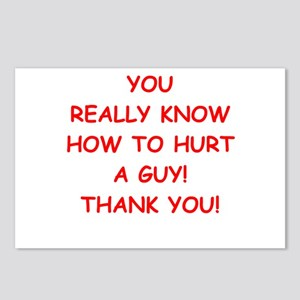 hurt me Postcards (Package of 8)