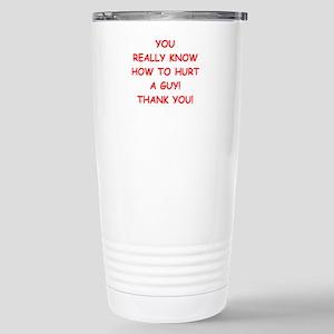 hurt me Travel Mug