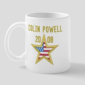 COLIN POWELL 08 (gold star) Mug