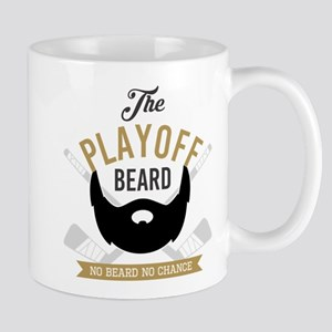 Gold Playoff Beard Mugs