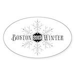 Boston 2015 Winter Sticker (Oval 10 pk)