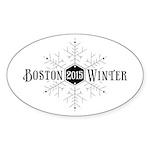 Boston 2015 Winter Sticker (Oval 50 pk)
