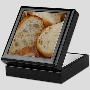 Artisan Bread Slices Keepsake Box