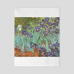 Van Gogh Irises, Vintage Post Impressio Twin Duvet