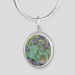 Van Gogh Irises, Vintage Post Impression Necklaces