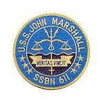USS JOHN MARSHALL Button