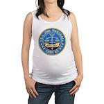 USS JOHN MARSHALL Maternity Tank Top