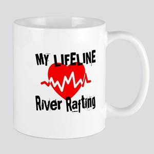 My Life Line River Rafting 11 oz Ceramic Mug