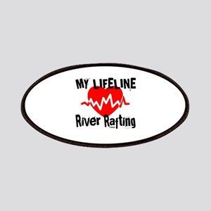 My Life Line River Rafting Patch