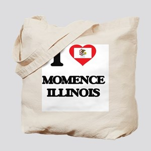 I love Momence Illinois Tote Bag