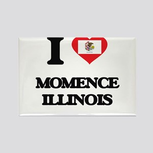 I love Momence Illinois Magnets